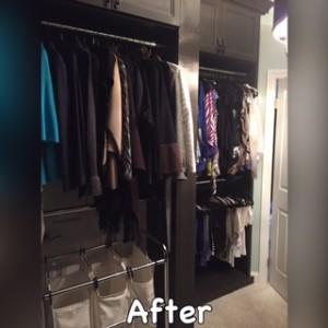 Clutter gone. Outerwear organized.