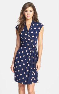 Summer wrap dress.