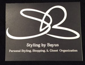 Styling by Bayus gift certificates for personal shopping, styling, or closet organization are a perfect gift for someone who has everything!